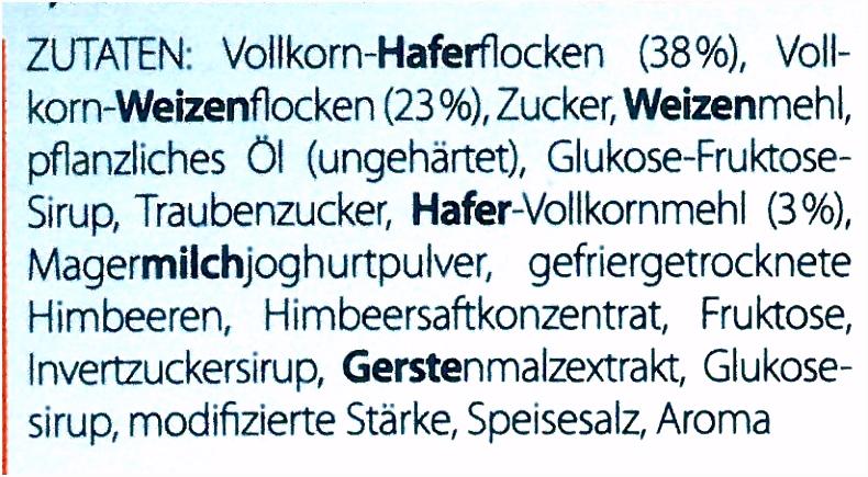 Allergenkennzeichnung bei Lebensmitteln Diese Angaben sind Pflicht