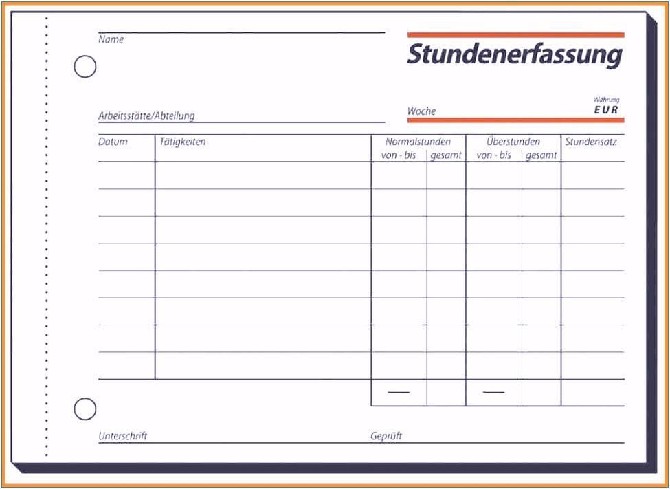 Stundenzettel Vorlage 2016 Luxus Arbeitszeitnachweis Vorlage 2016