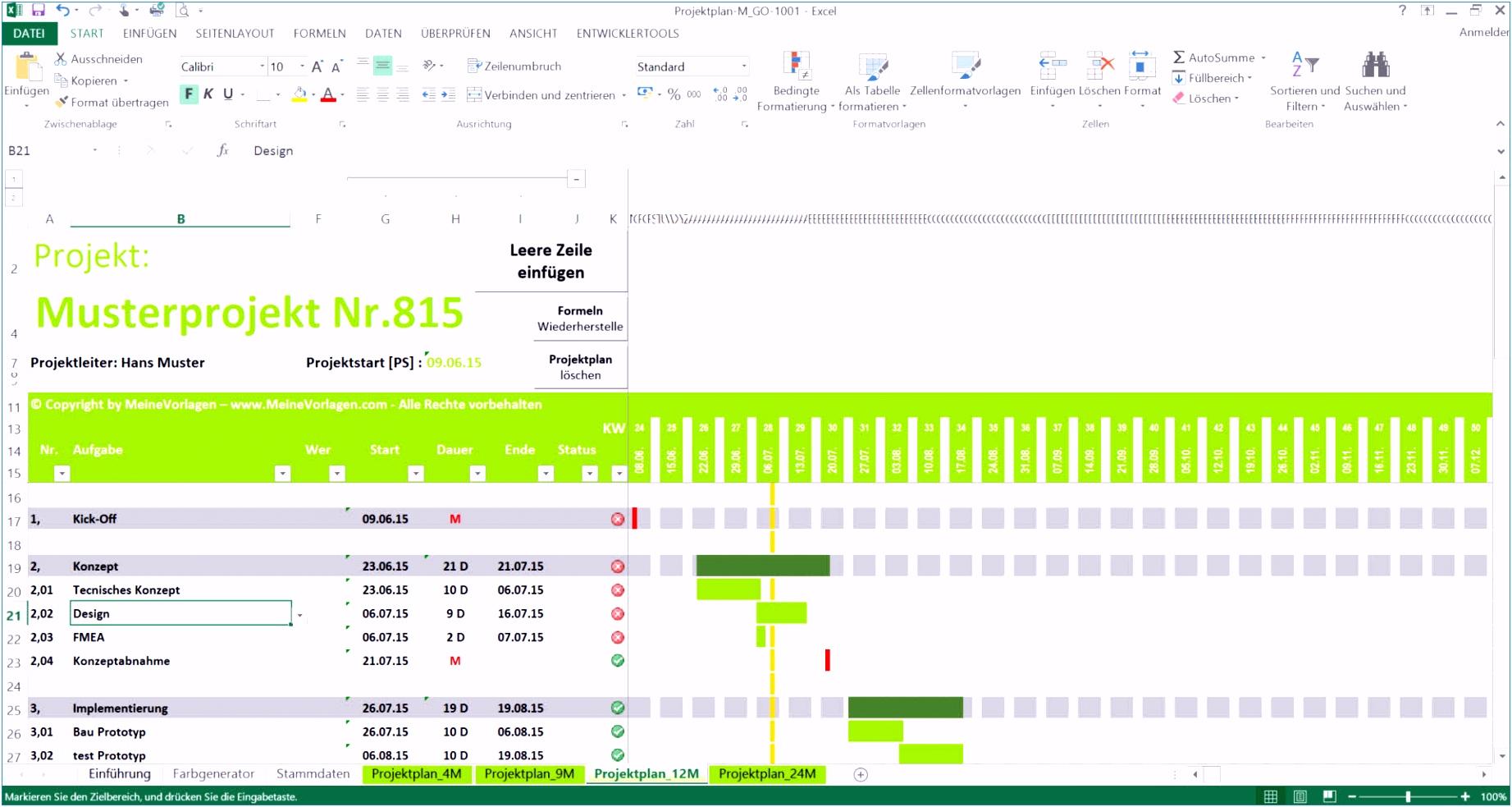 Aufgabenliste Excel Vorlage Elegant Projektplan Excel — Omnomgno