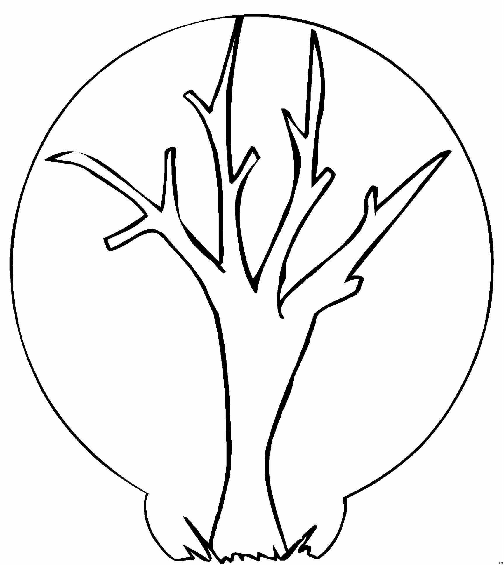 Baum Ohne Blätter Zum Ausmalen — hylenddawards