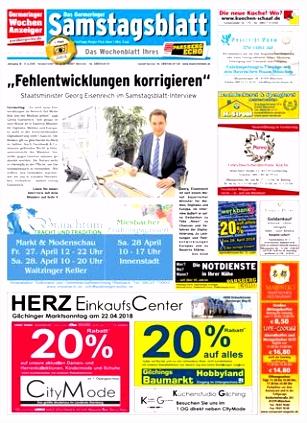 KW 16 2018 by Wochenanzeiger Me n GmbH issuu