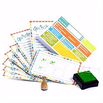 lib elle Aufgabenliste für Kinder Klebezettel Set