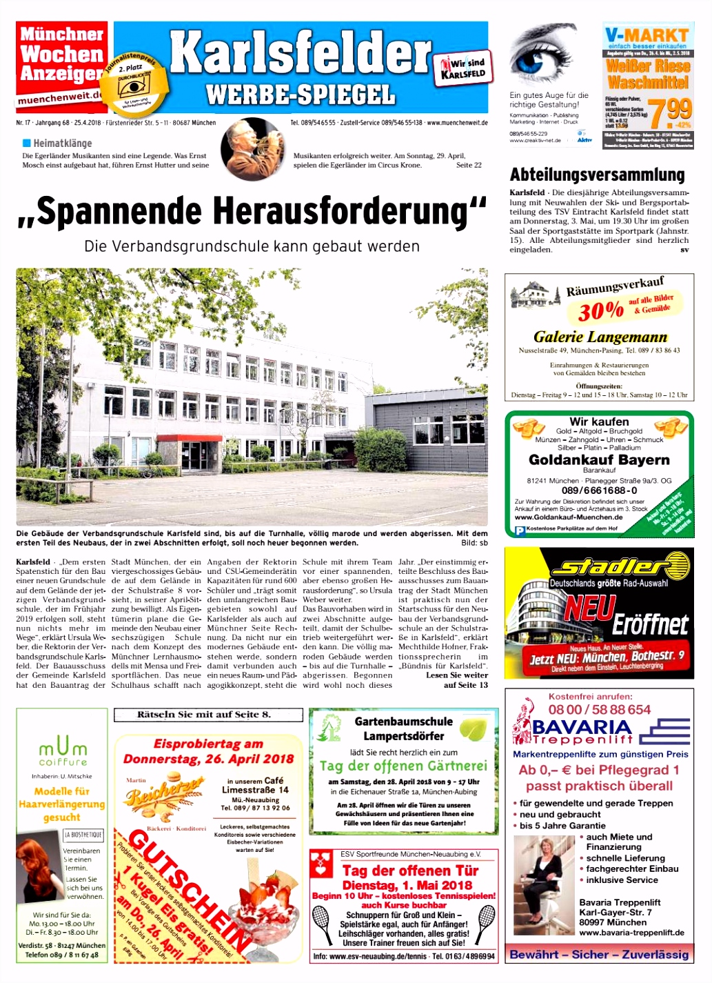 KW 17 2018 by Wochenanzeiger Me n GmbH issuu