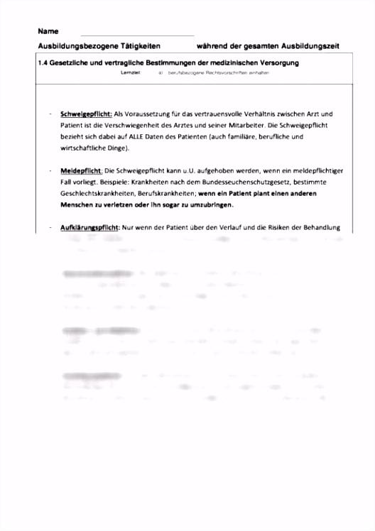 Berichtsheft Medizinische Fachangestellte Berichtsheft Ausbildung