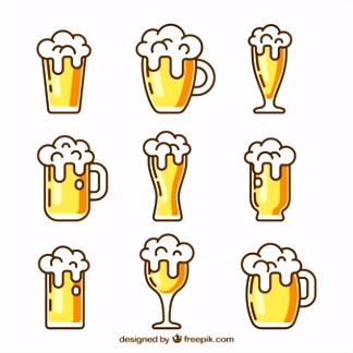 Beer Vectors s and PSD files