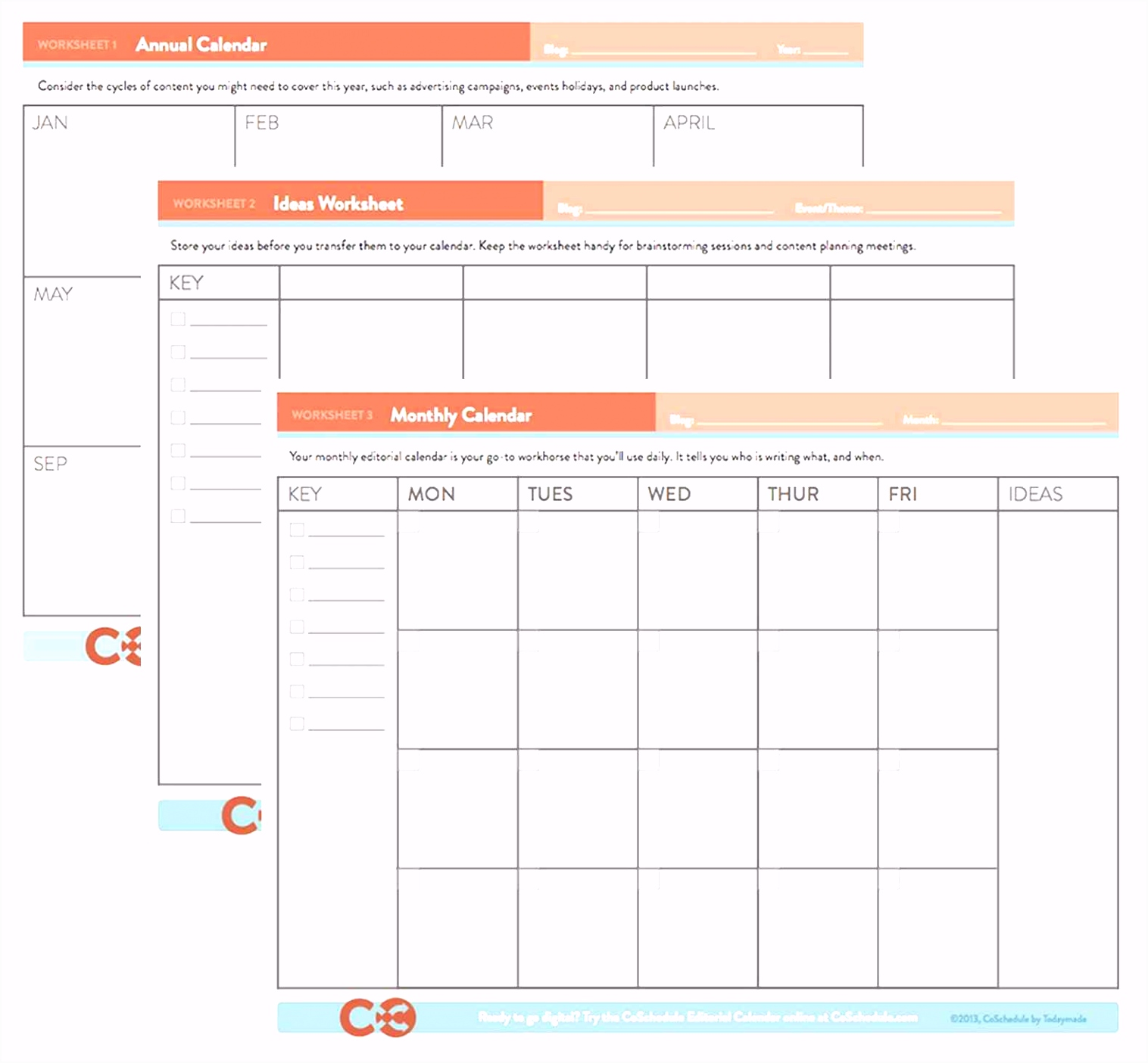 Blog Editorial Calendar Template Elegant Free Printable Calendar