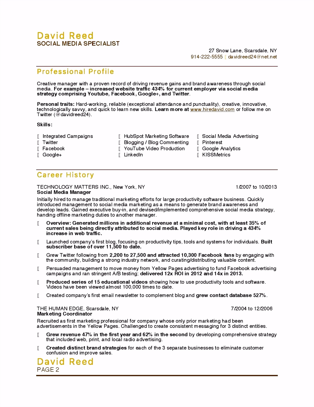 Marketing Report Example Glendale munity Document Template