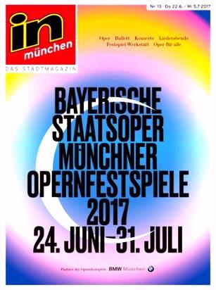 in münchen Das Stadtmagazin Ausgabe 13 2017 by InMagazin Verlags
