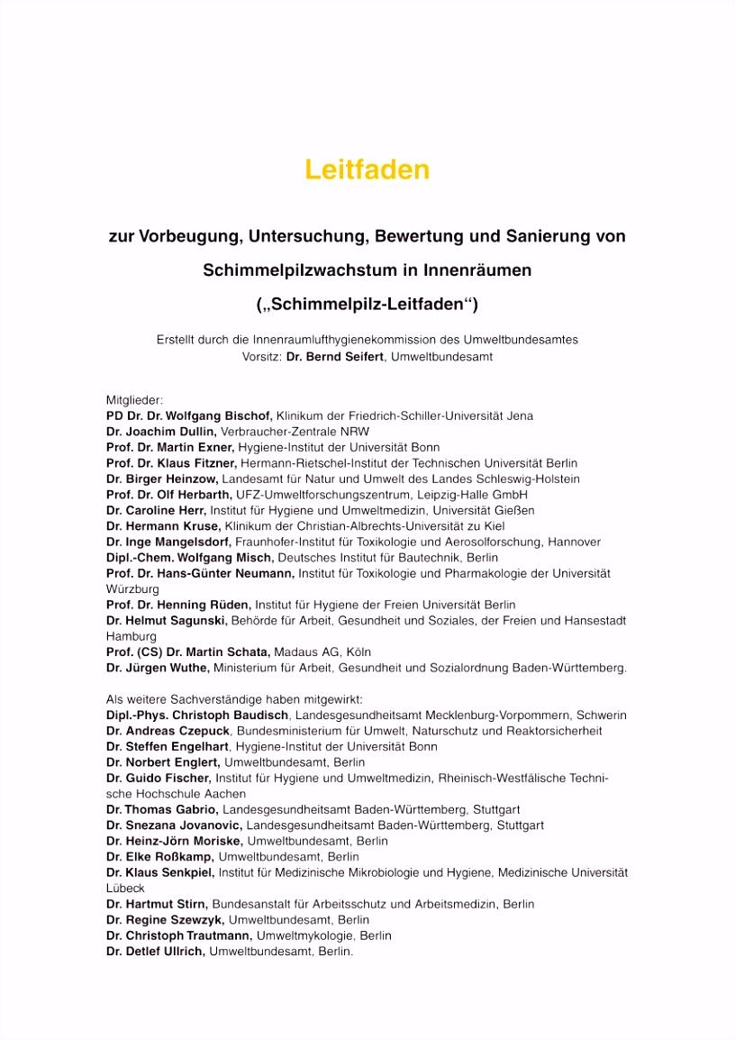PDF Umweltmedizinische Relevanz von Schimmelpilzen im Lebensumfeld