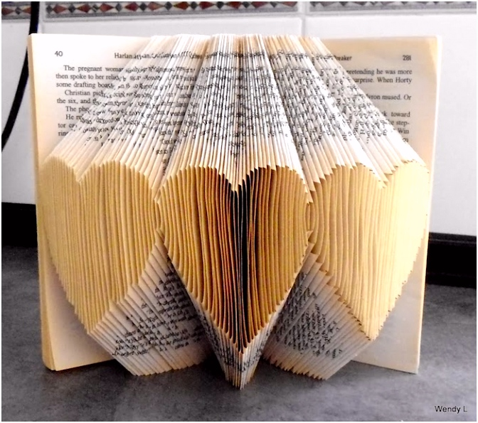 Buch Falten Herz Vorlage ▷ 1001 Ideen Und Bilder Zum thema Bücher Falten D2en22ekv5 Bhmlh6kiy6