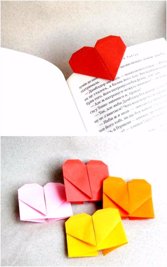 Lesezeichen basteln einfache Bastelideen für Erwachsene