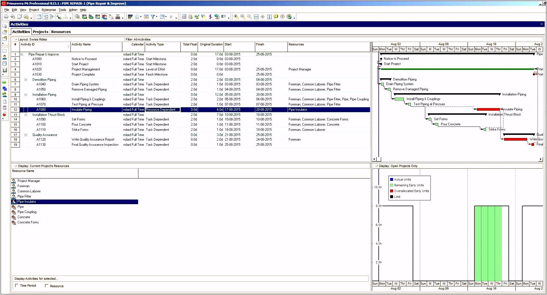 Detaillierte Bud planung Excel Vorlage Kostenlos