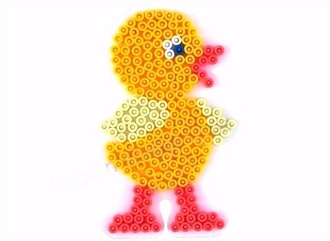 HAMA Stifteplatte für Bügelperlen Perlen Perlenbild Bild viele