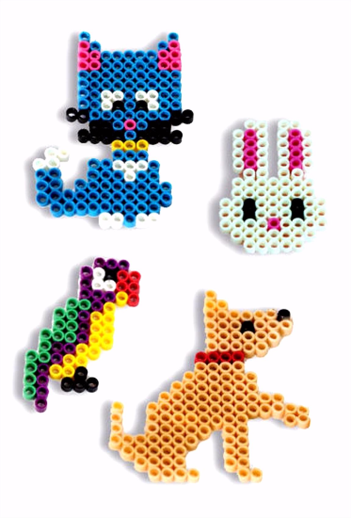 Preissturz eZee Beads Steckperlen Tiere mit 4 Vorlagen 400