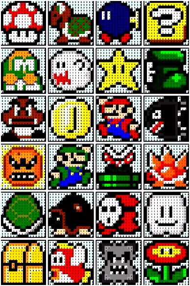 Bugelperlen Vorlagen Mario the Recipe Bunny Super Mario Quilt T4ub93dxu4 Smojhmfrf4