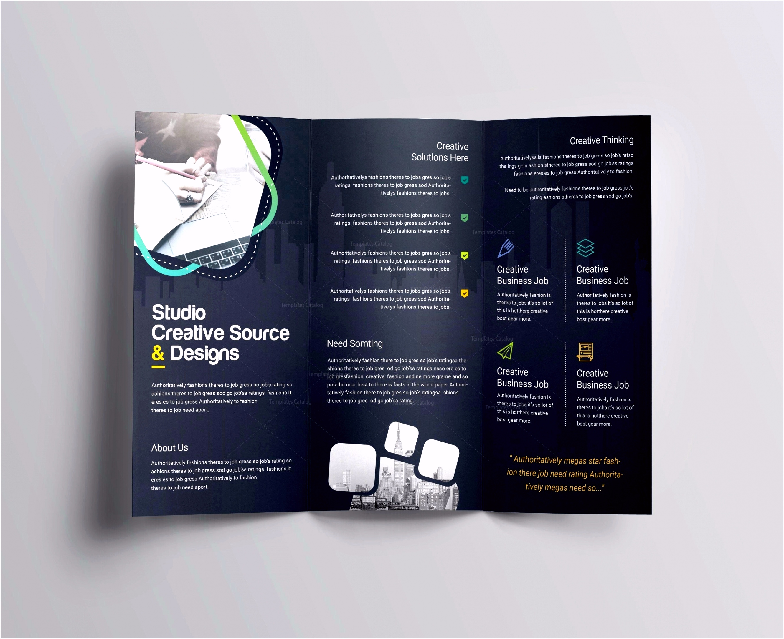 018 Template Ideas Free Half Fold Brochure Elegant Businessplan