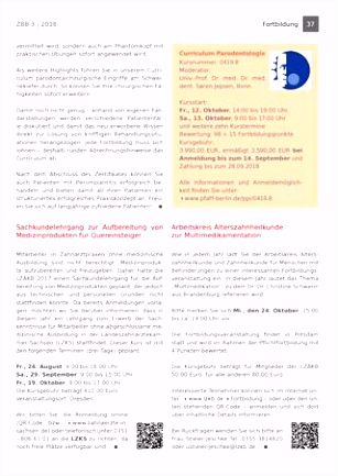 Datenschutz Zahnarztpraxis 2018 Vorlage Zbb Ausgabe 3 2018 by Kzvlb issuu F8da32ceh4 C5qf6himss