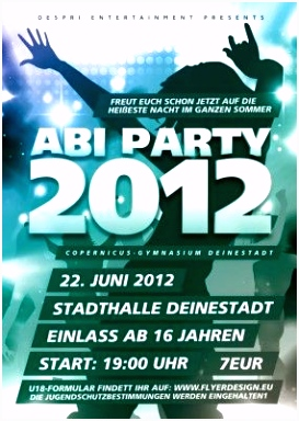 party flyer vorlagen Ganda fullring