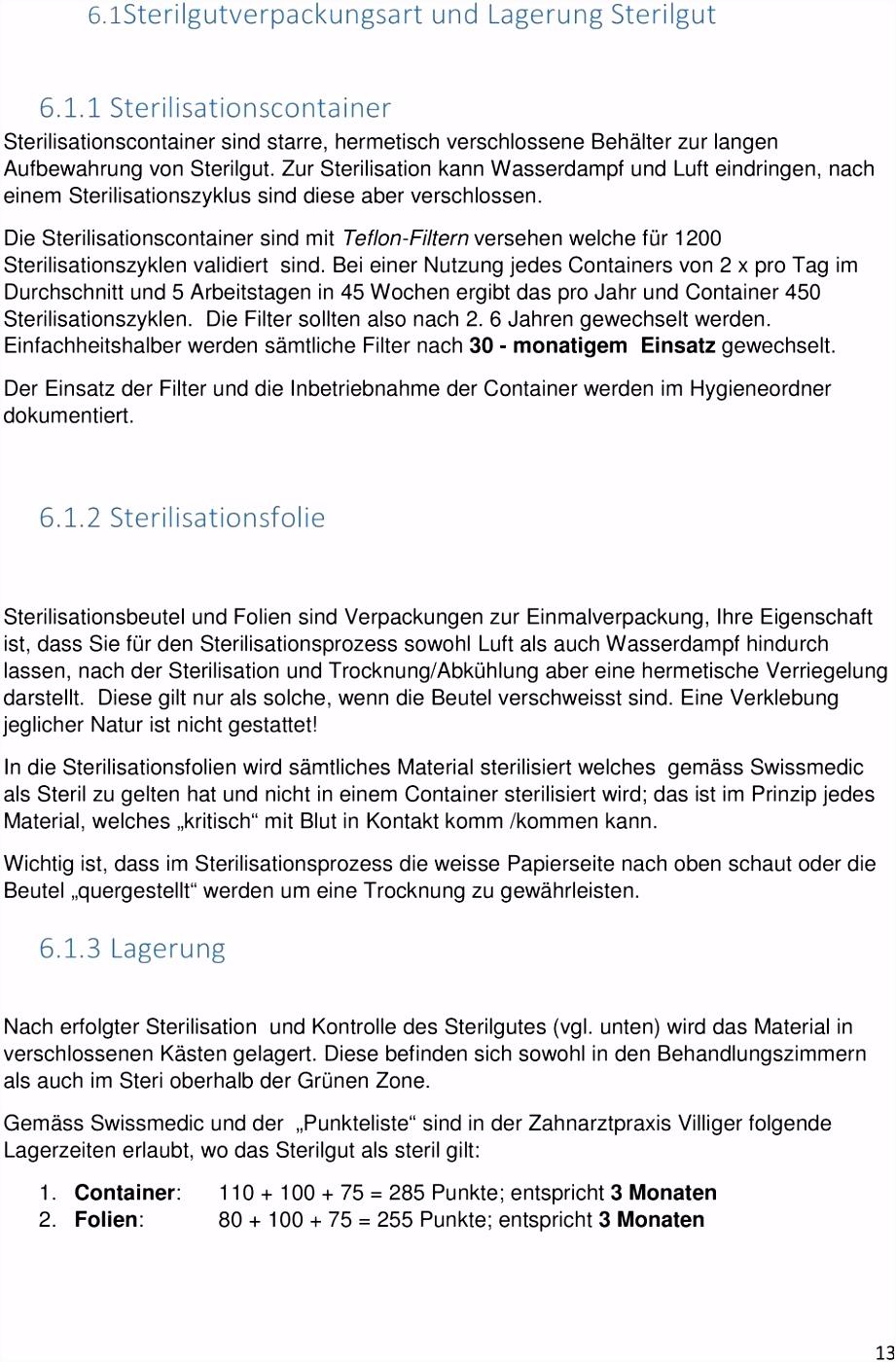 Hygieneplan Arzt und Zahnarztpraxis Villiger The Face of Beauty PDF