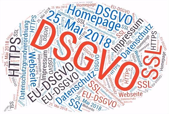 Umsetzung Datenschutz Grundverordnung DSGVO für Unternehmenswebseiten