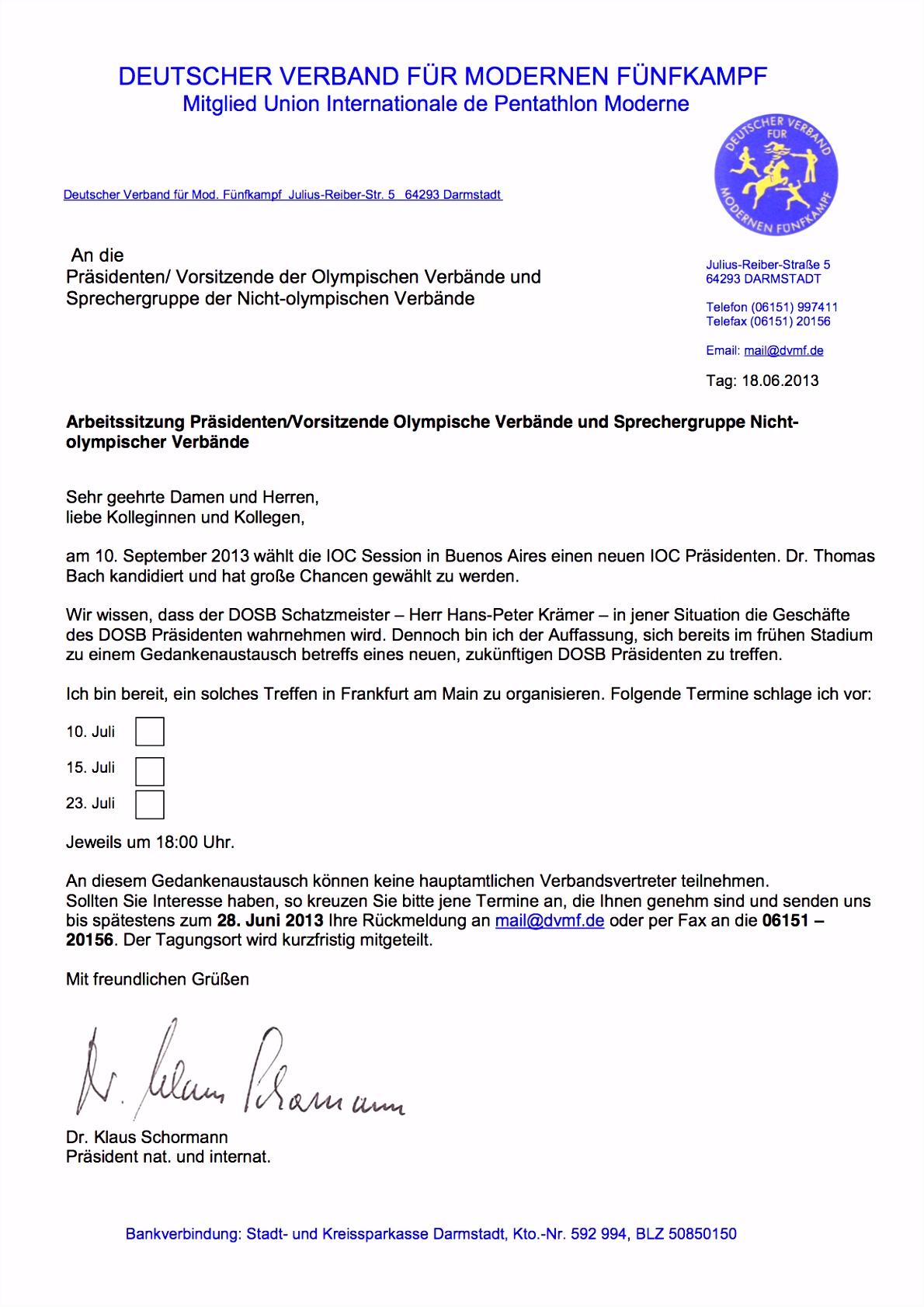 """Bach Nachfolge im DOSB """"Objektivierung"""" gescheitert • SPORT & POLITICS"""