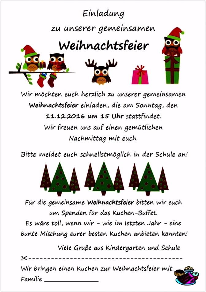 Text Einladung Weihnachtsfeier Firma Einladungen Vorlage