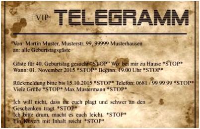 Whatsapp Einladung Geburtstag Vorlagen