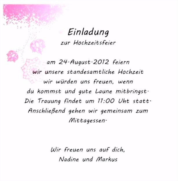 Einladung Schreiben Hochzeit Vorlagen