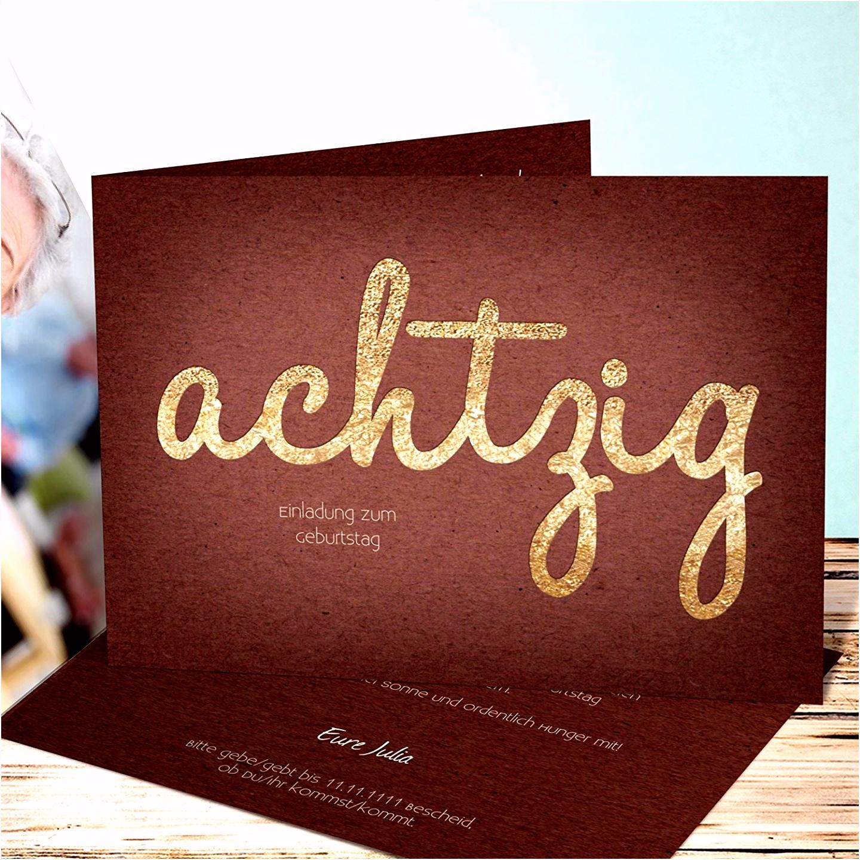 Einladung 80 Geburtstag Vorlage Word Neu Einladungskarten 70
