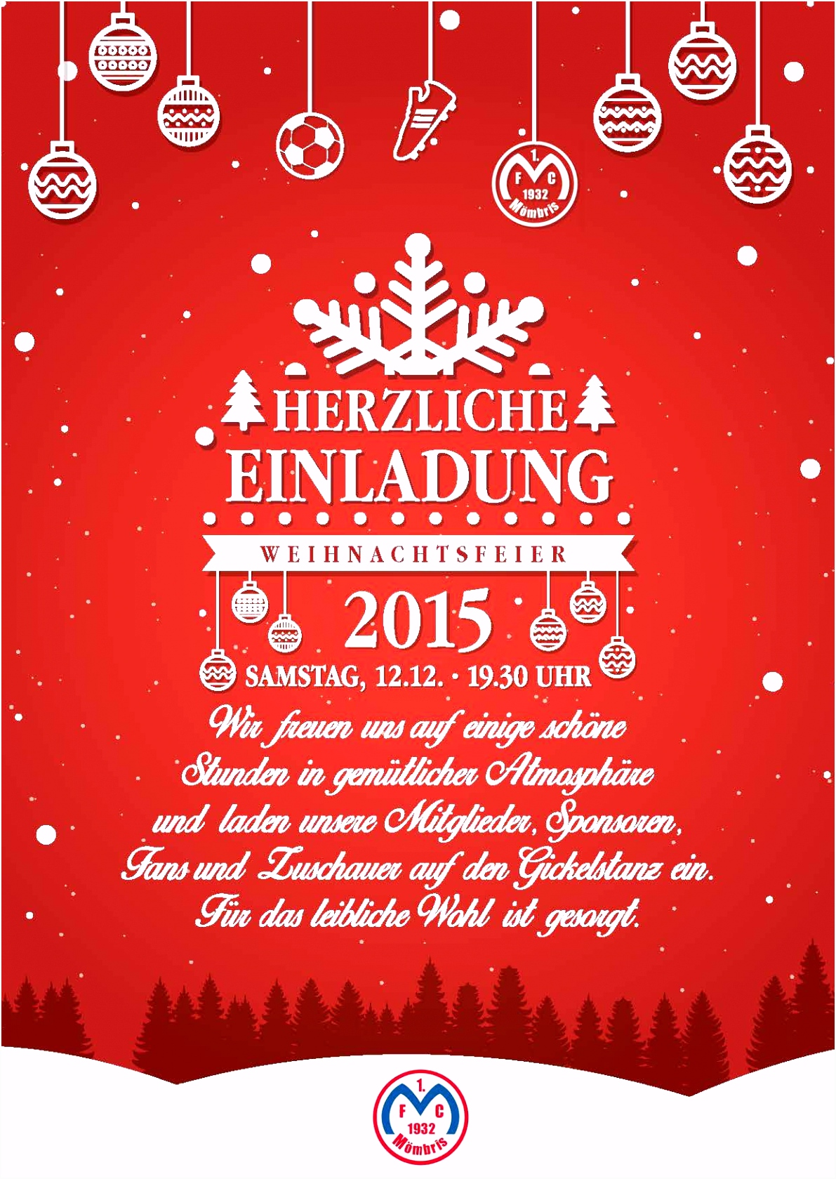 Einladung Weihnachtsfeier Email Vorlage Einladung Weihnachtsfeier