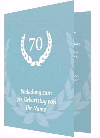 Einladung Zum 70 Geburtstag Vorlage Kostenlos Genial Einladung