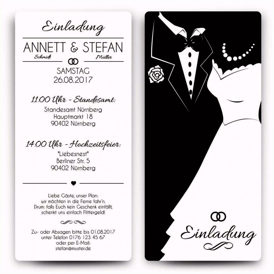 Vorlagen Einladung Hochzeit Kostenlos Vorlagen
