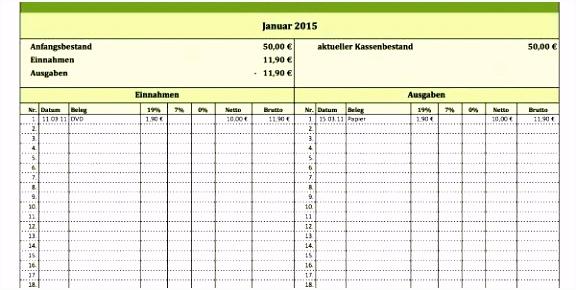 Einnahmenüberschussrechnung Excel Vorlage Kostenlos 48 Design