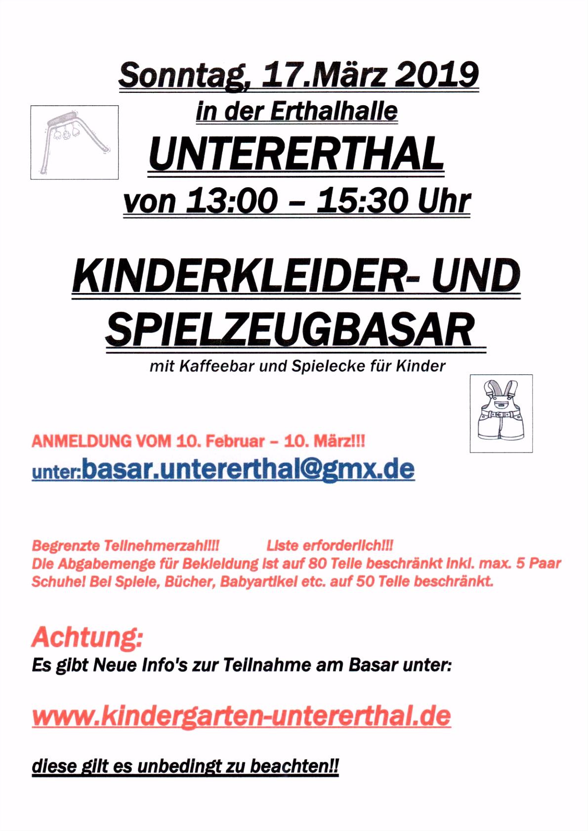 Kindergarten Untererthal Nachrichten