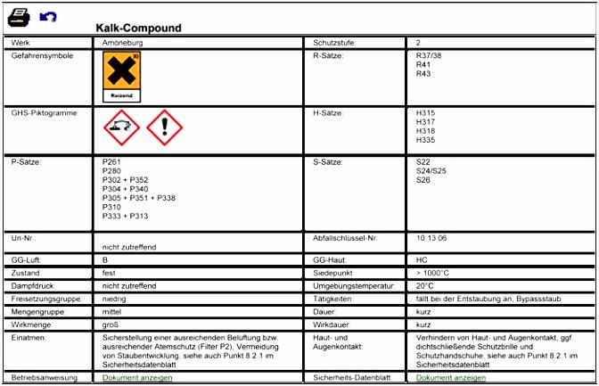 Gefahrstoffkataster Vorlage Excel – pronostico