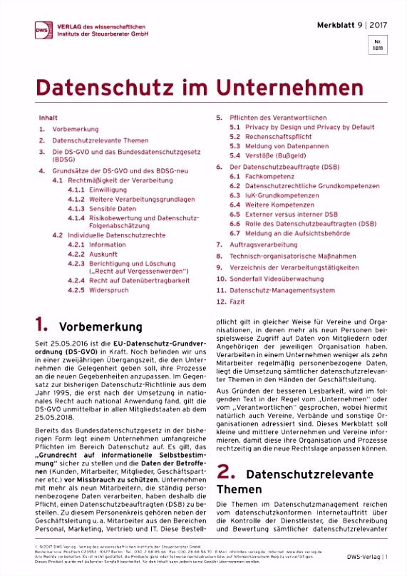 Eu Datenschutz Grundverordnung 2018 Vorlage Dws Nachrichten W1ye77sfx4 Y4jisu0sau