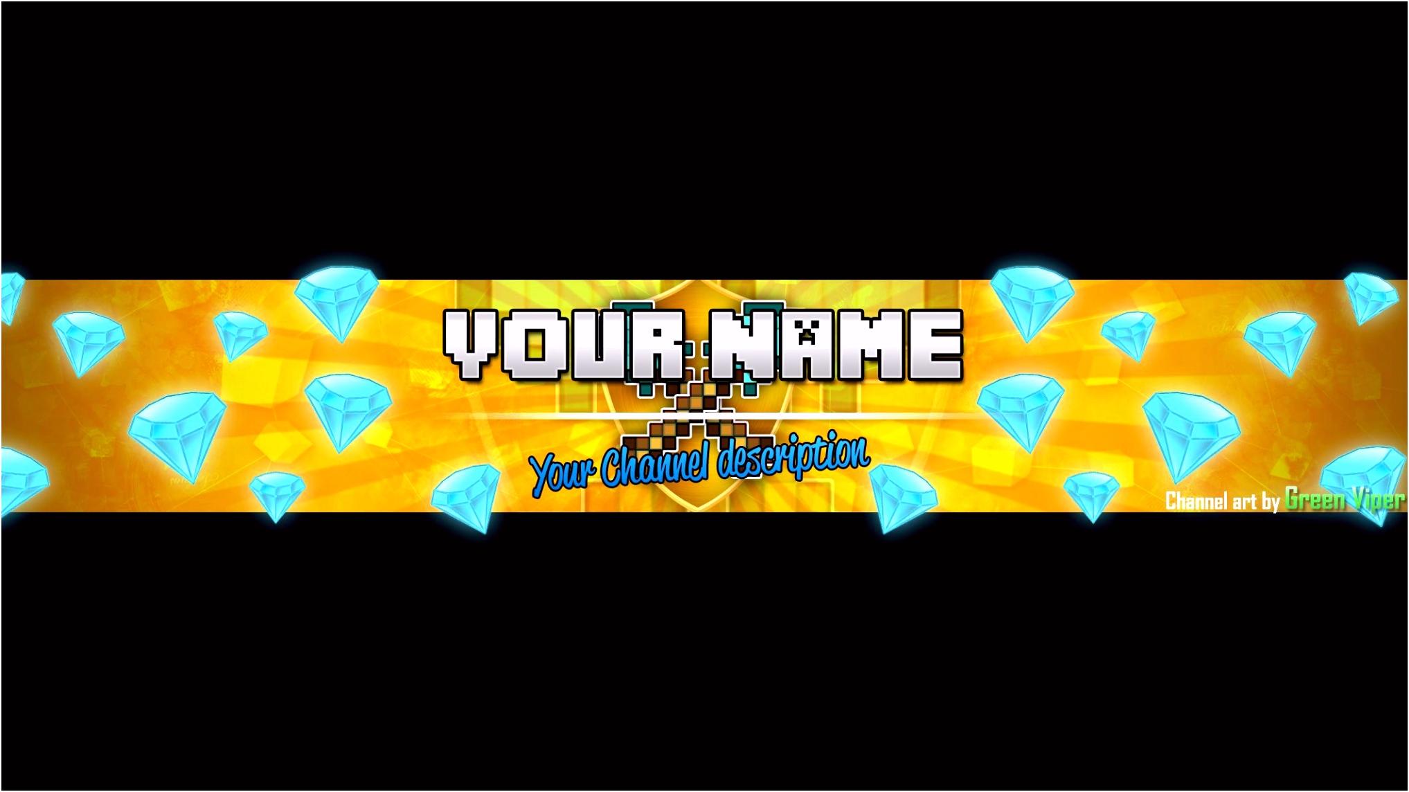 Die Erstaunliche Minecraft Banner Vorlage