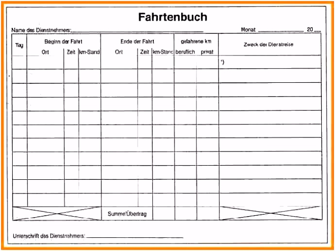 Fahrtenbuch Fur Finanzamt Vorlage Fahrtenbuch Vorlage Kostenlos Zum Download Fr Pdf Openoffice Oder U6qk74ekm4 Kuddhutku2