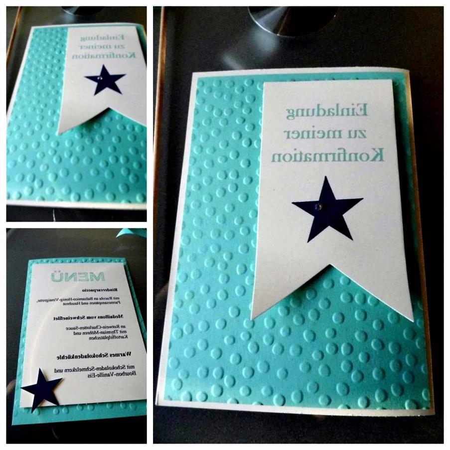 Einladungskarten Konfirmation Selber Machen Kommunion Einladungen