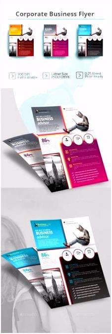 Broshure Templates Flyer Design Template Word Brochure Fresh
