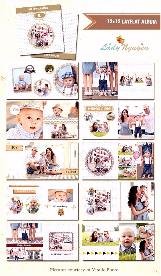 Fotobuch Baby 1 Jahr Fotoalbum Selbst Gestalten Ideen Schön