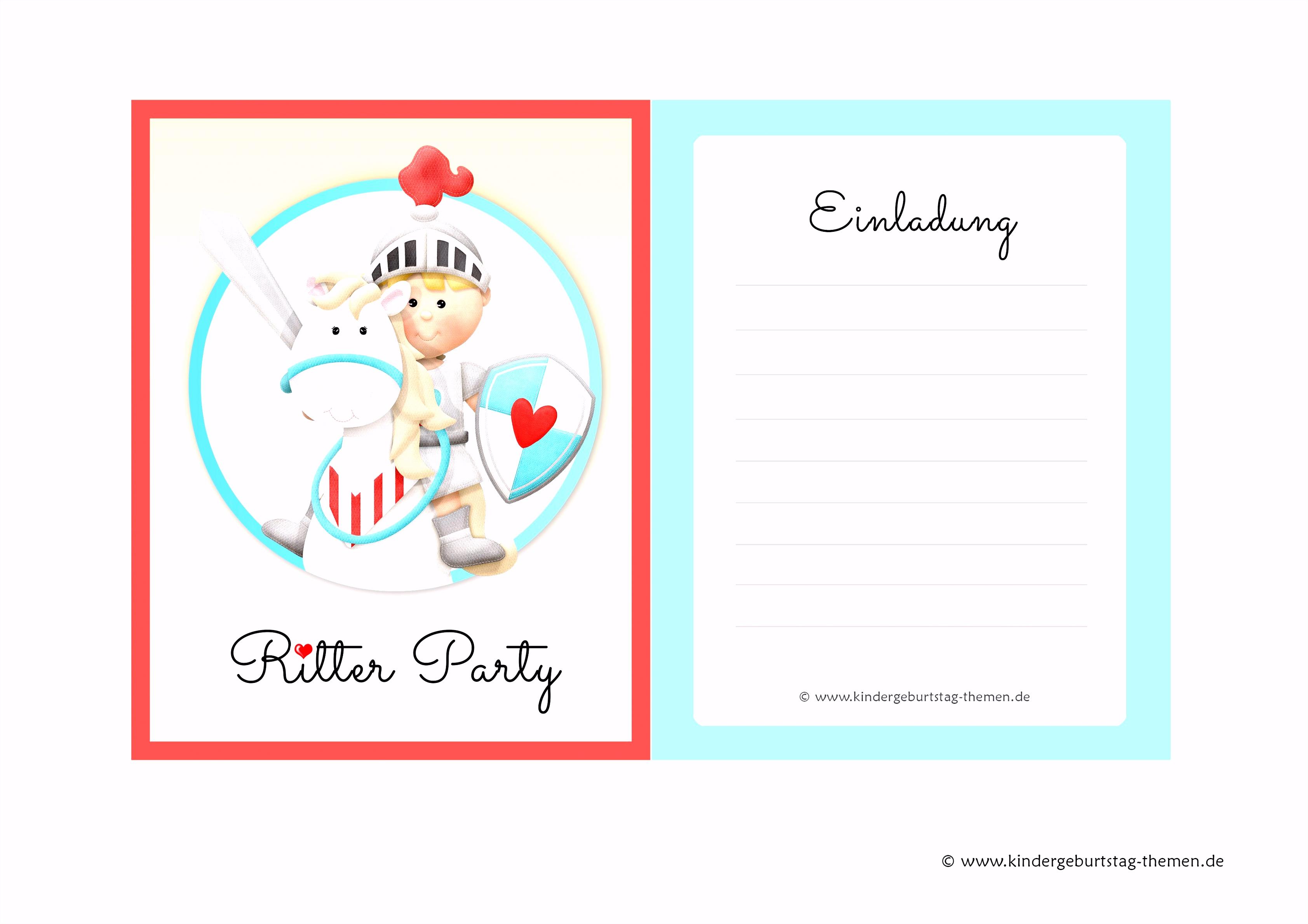 Die Fabelhaften Kindergeburtstag Einladungen Vorlagen