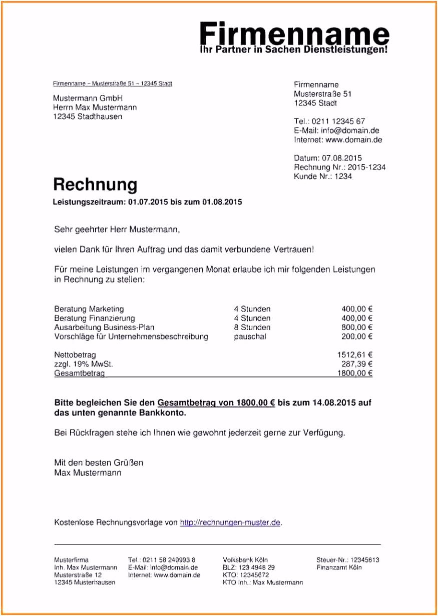 Freiberufler Rechnung Vorlage Privat Rechnung Schreiben Vorlage W4lw19tje5 Smbos2ikk4