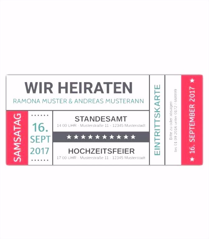 Hochzeit Einladung Ticket Einladung 18 Geburtstag Vorlage Von