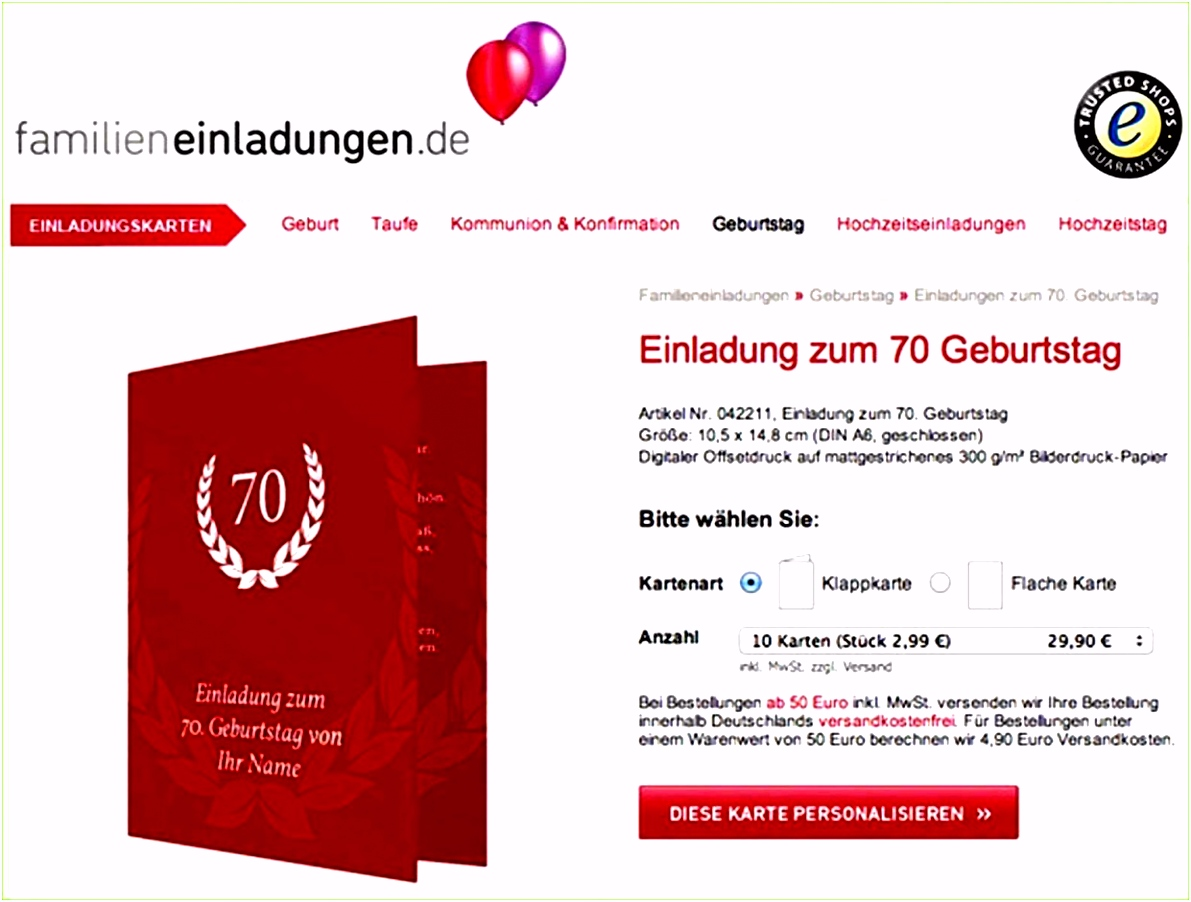 Einmalig Von Wunderbar Einladung 70 Geburtstag Vorlage Kostenlos