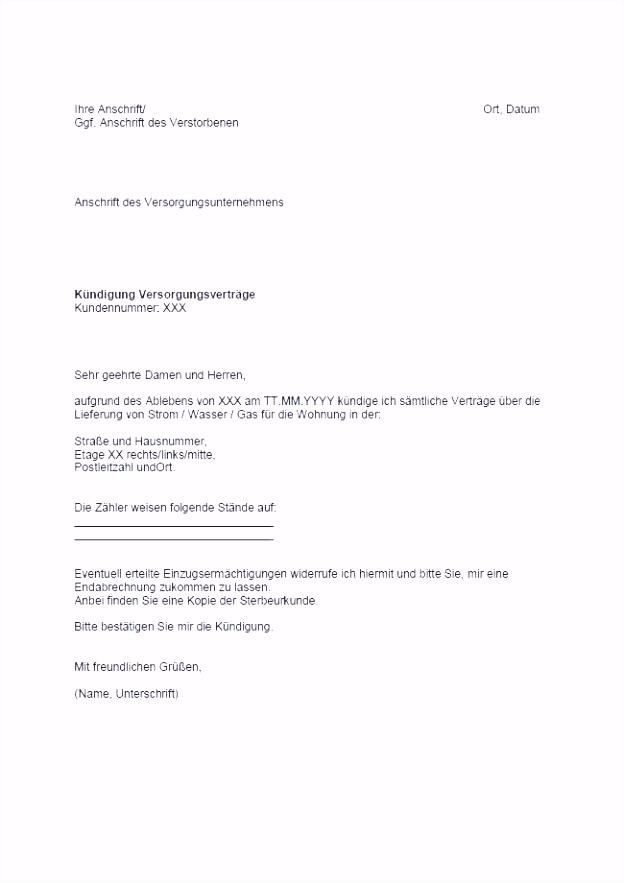 Otelo Kündigung Vorlage Pdf Genial Kündigung Bankkonto