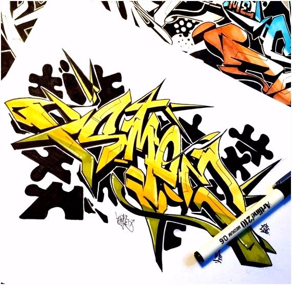 Graffiti Alphabet Vorlagen Inspirierend 81 Besten Graffiti