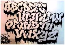 217 Best Graffiti Fonts images