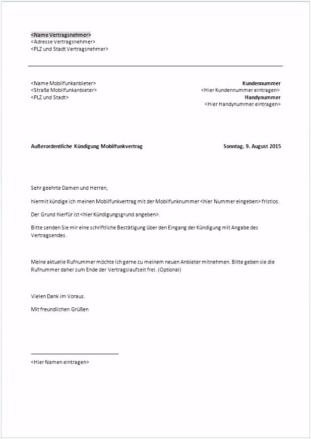 Handyvertrag Kundigung Vorlage Word 39 Schön Hausratversicherung Kündigen Wegen Zusammenzug Vorlage T5yl96smf1 Iuyem6knc5
