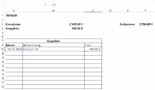 Die Erstaunliche Haushaltsbuch Excel Vorlage Kostenlos